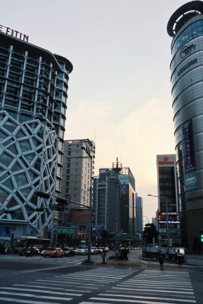 Hochhäuser in Seoul