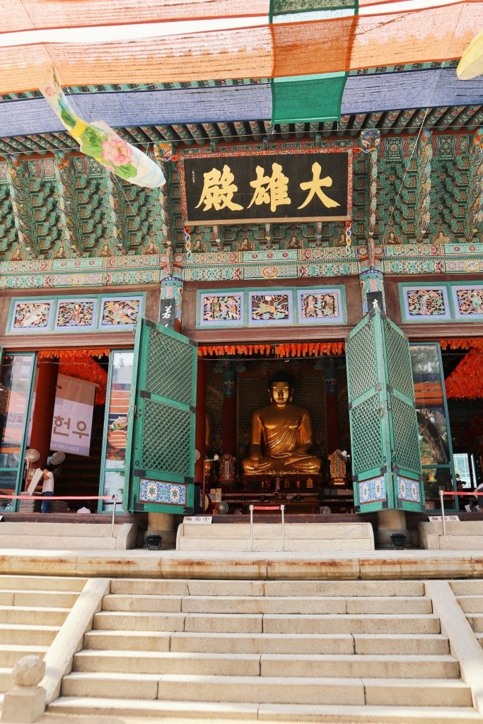 Buddha Statuen im Jogyesa Tempel