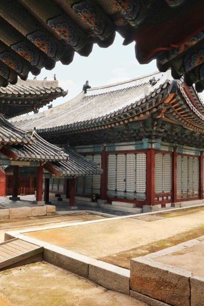 Temepl im Changgyeonggung Palast
