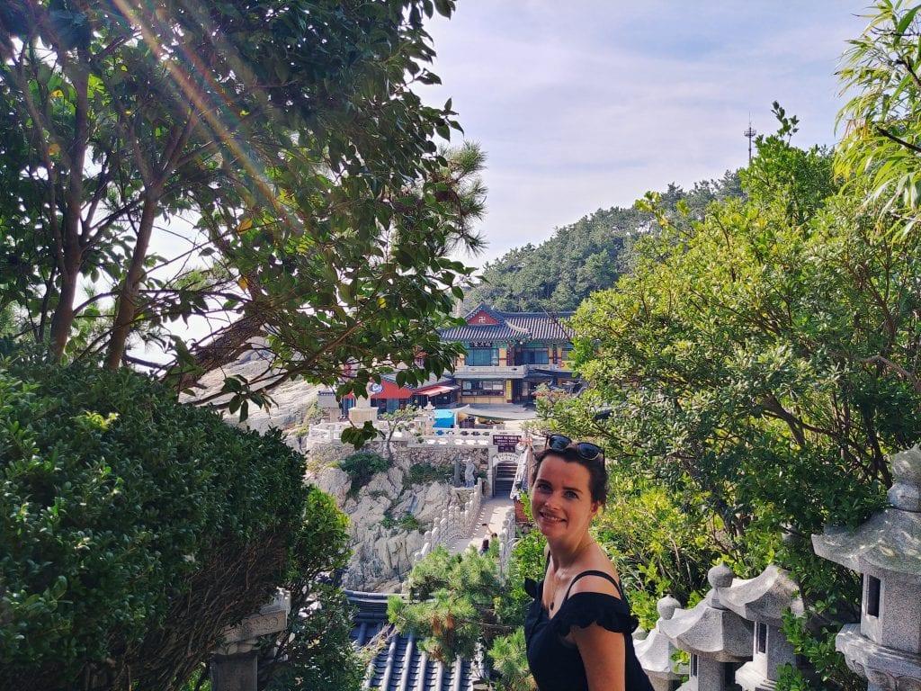Auf dem Weg zum Tempel Haedong Yonggungsa