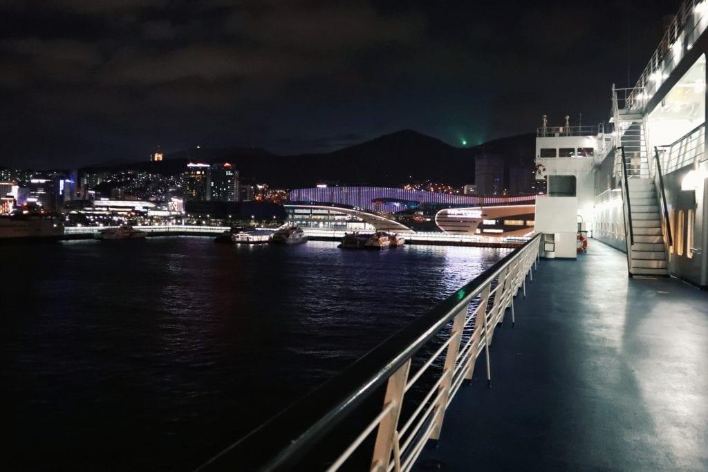 Fähre von Busan nach Fukuoka