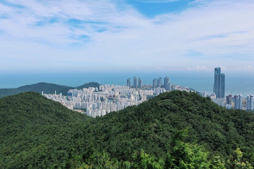 Blick über Busan