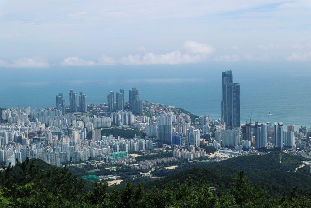 Blick vom Mount Jangsan