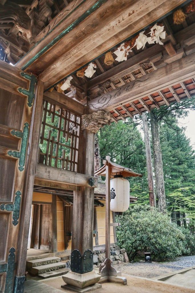 Tempeleingang in Koyasan