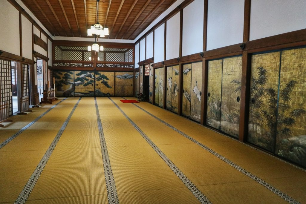 Raum im Kongobuji Tempel