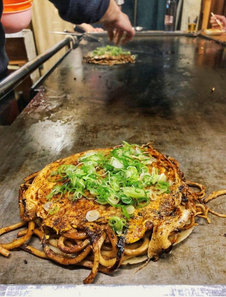 Okonomiyaki Kyoto-Stlye
