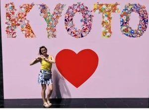 Love Kyoto Schild
