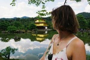 Kyoto-Reisetipps: Travellerin Lisa und der goldene Tempel