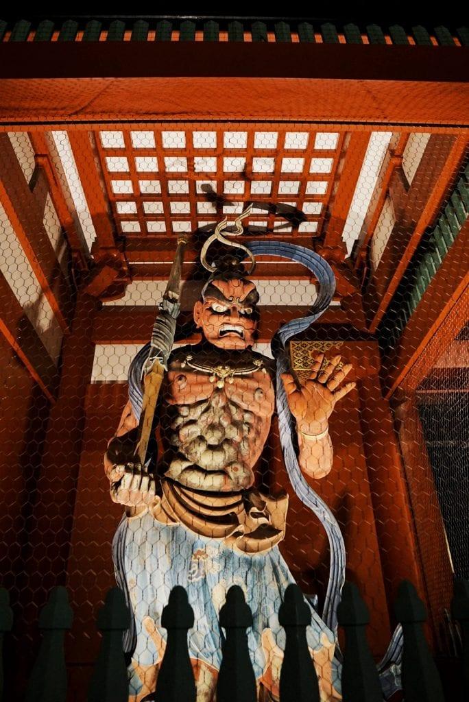 Figur im Asakusa Tempel