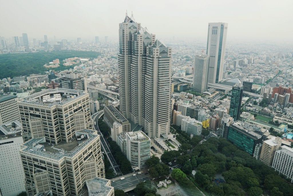 Blick vom Metropolitan Government Building