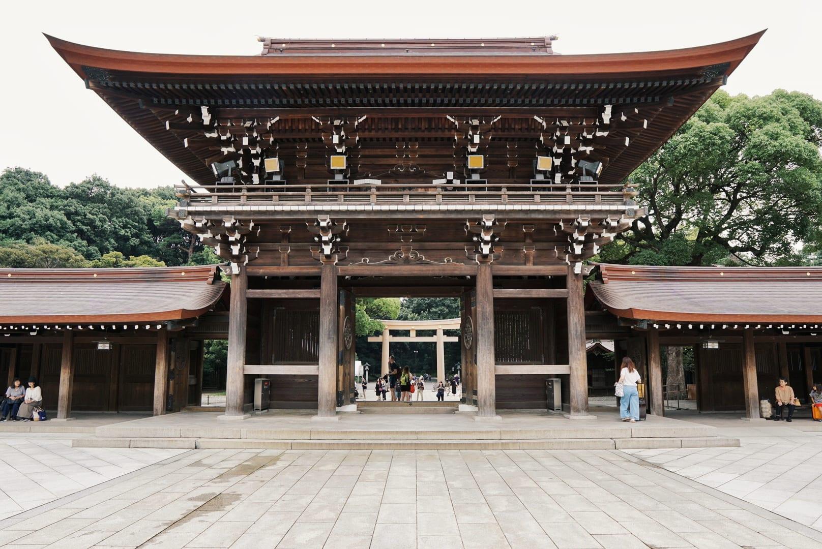 Meiji Schrein im Yoyogi Park