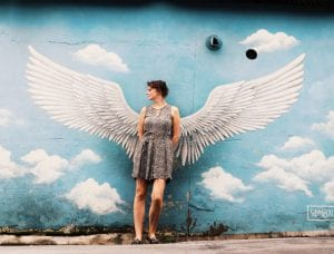 Street Art im Ihwa Mural Village in Seoul