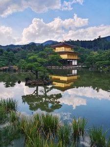 Kyoto-Reisetipps: der Goldene Kinkaku-ji Tempel in Kyoto
