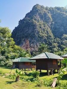 Kloster in Thailand: Unterkünfte in der Wat Pa Tam Wua Forest Monastery