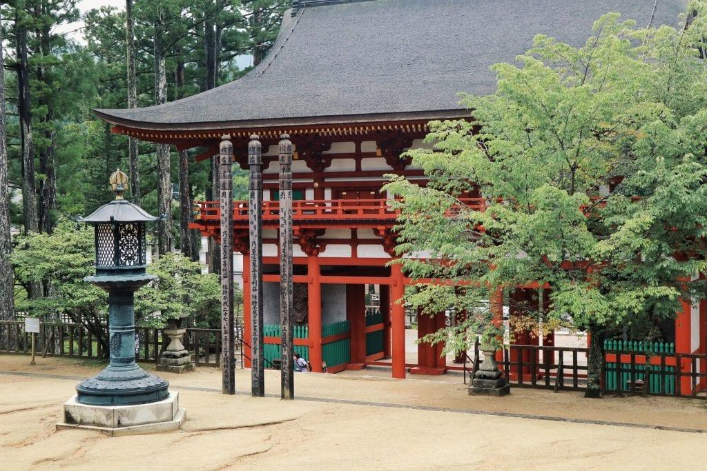 Tempel in Koyasan