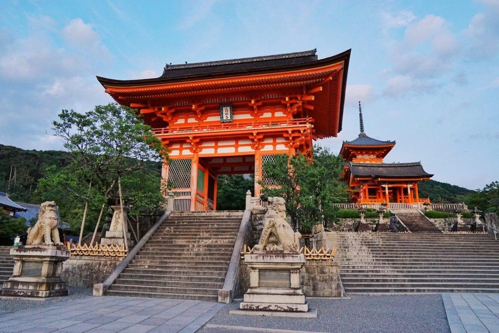 Kiyomizu-dera-Tempel in Kyoto