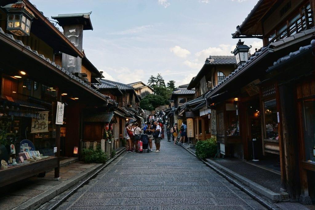 Straßen von Kyoto