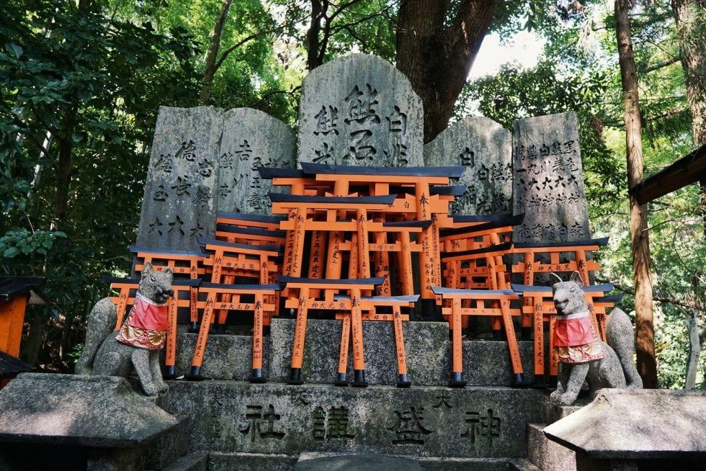Torri am Fushimi Inari Taisha Schrein