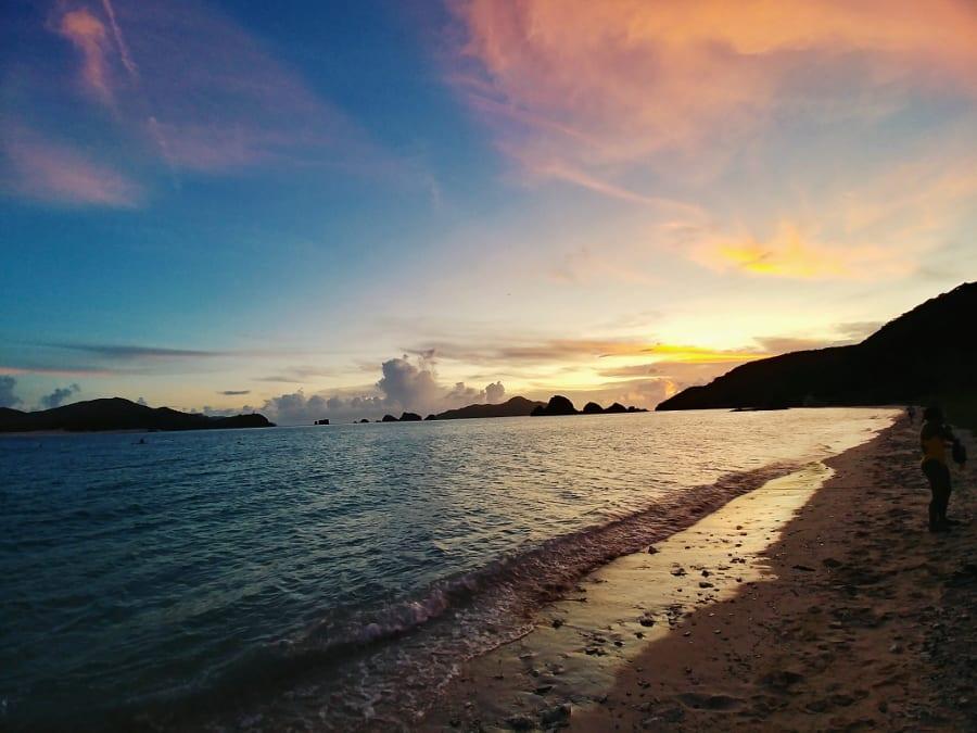 Zamami Island: Sonnenuntergang am Ama Beach