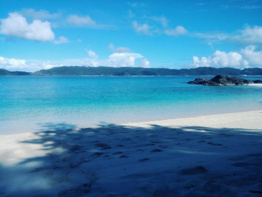 Strand Furuzamami auf Zamami Island
