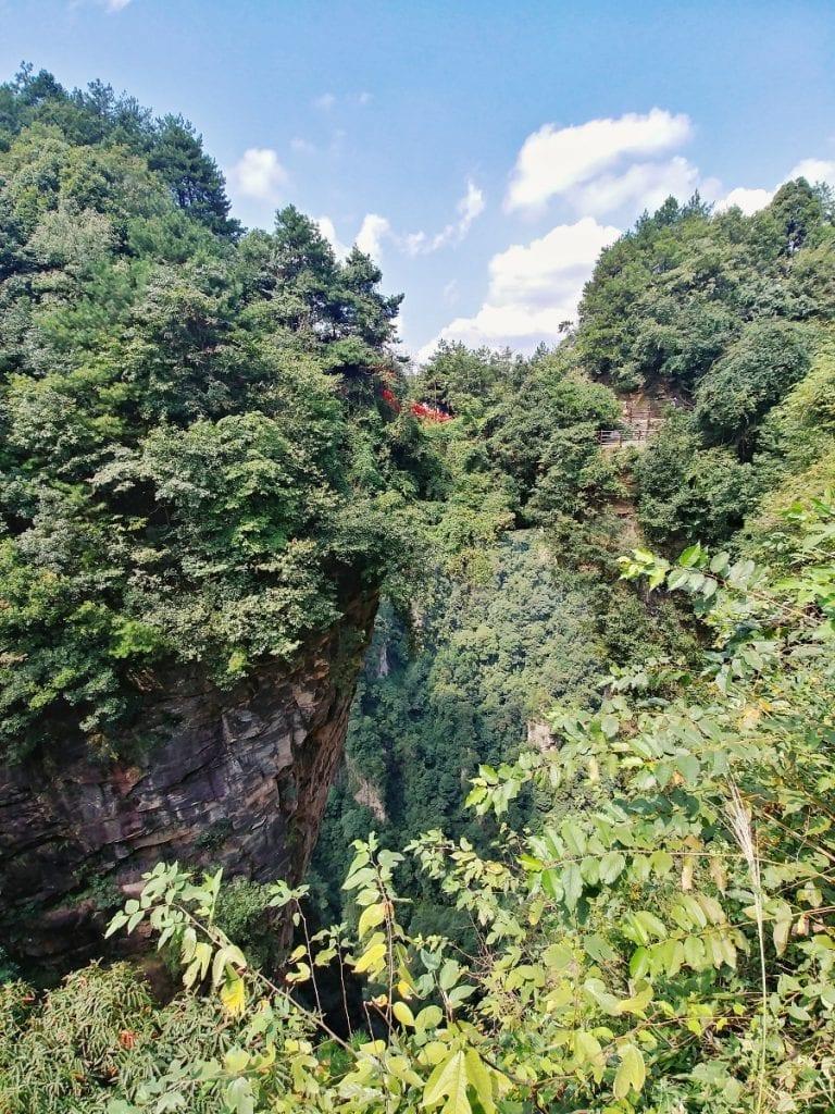 natürliche Brücke in den Avatar Felsen