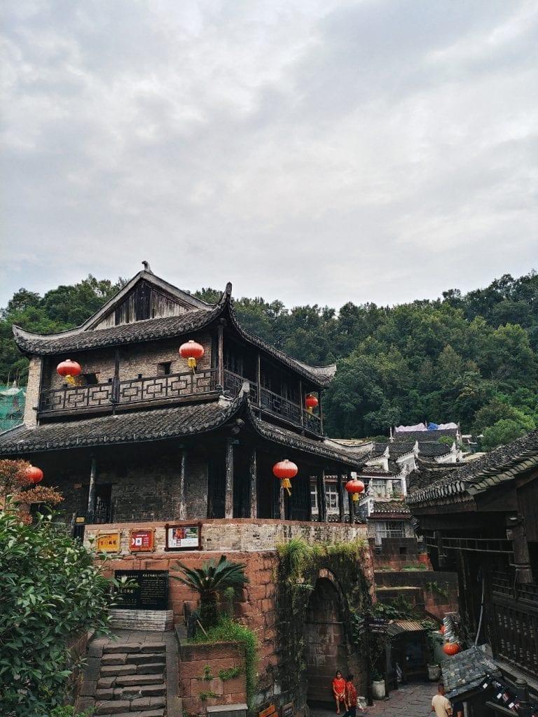 Holzhäuser in Fenghuang