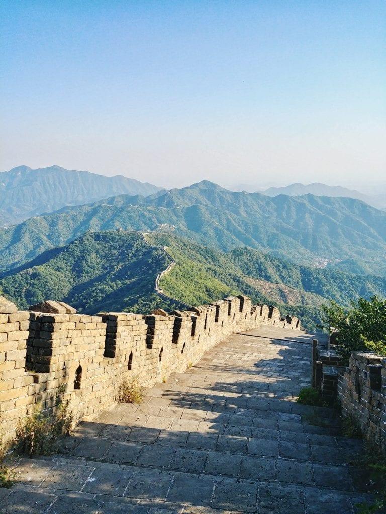 Chinesische Mauer von oben