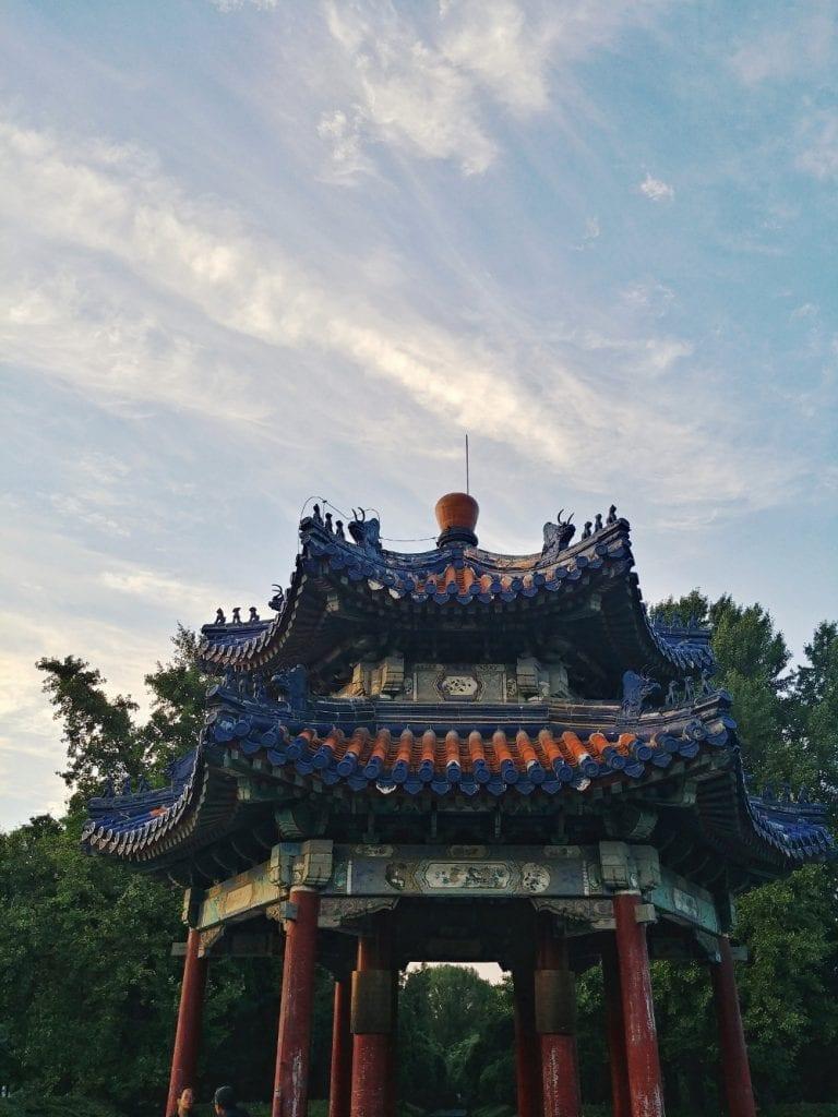 Tempel im Park des Himmelstempels