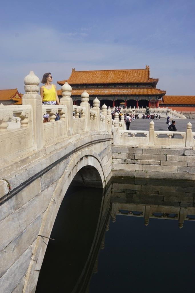 Kaiserbrücke in der verbotenen Stadt