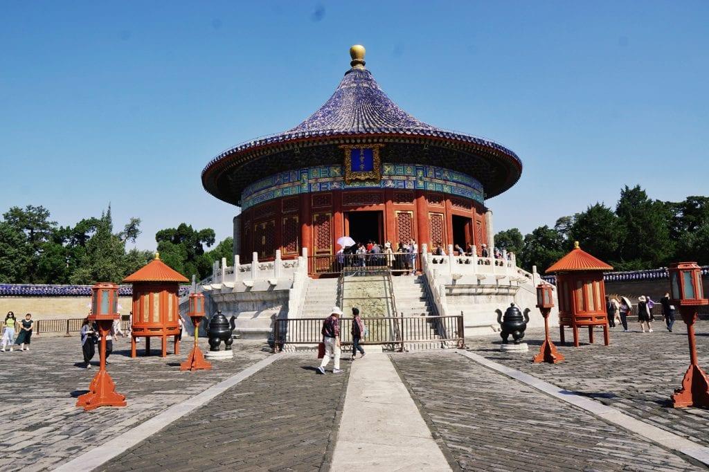 Tempel beim Himmelstempel