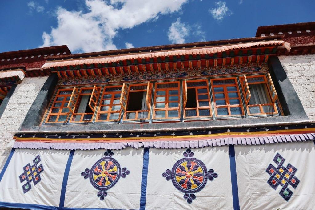 Halle in der Sera Monastery