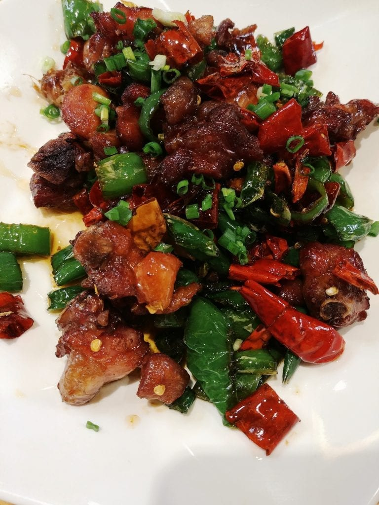 Rind- und Hammelfleisch mit Chili