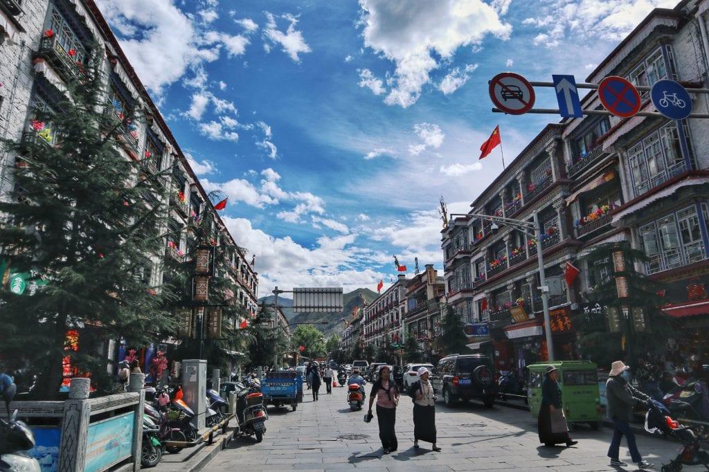 Innenstadt Lhasa