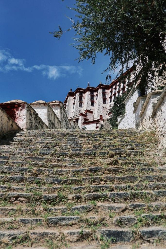 Stufen zum Potala Palast