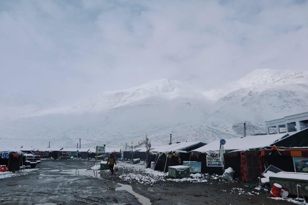 Blick auf das Mount Everest Basecamp (2)