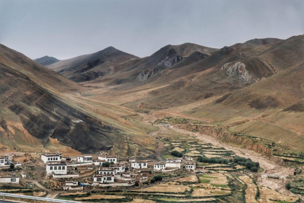 Häuser in Tibet