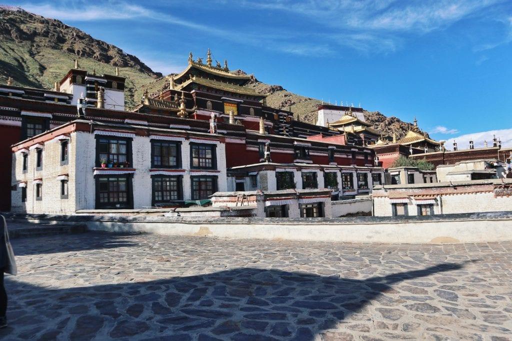 Haupthaus der Tashilhunpo Monastery