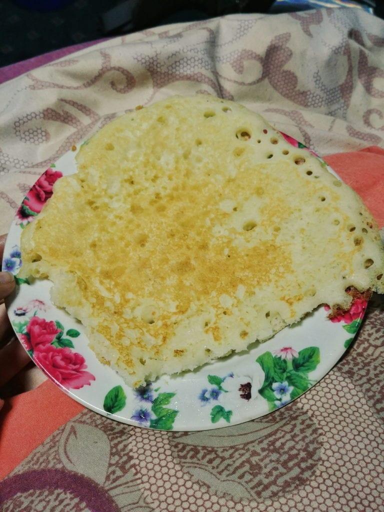 Pancake im Mount Everest Basecamp