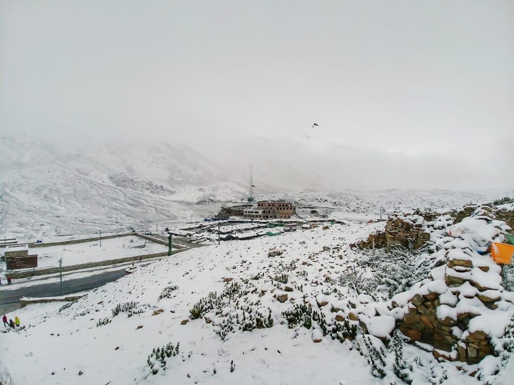 Schnee Mount Everest Basecamp