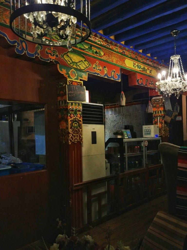 Tibetian Family Kitchen