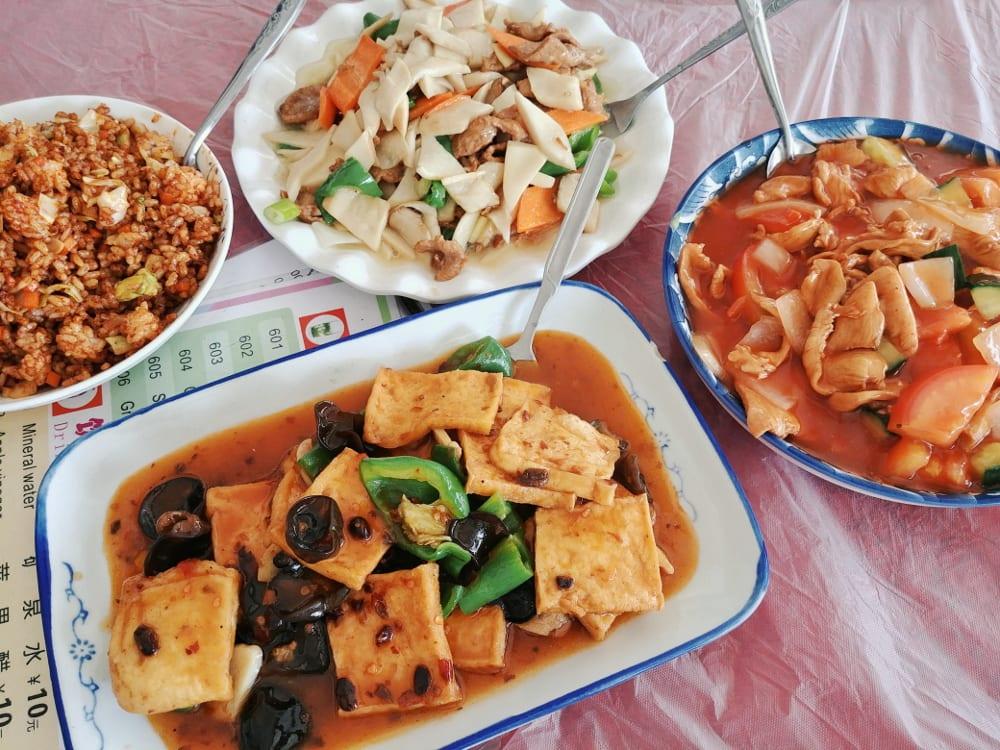 Tibetisch chinesisches Essen