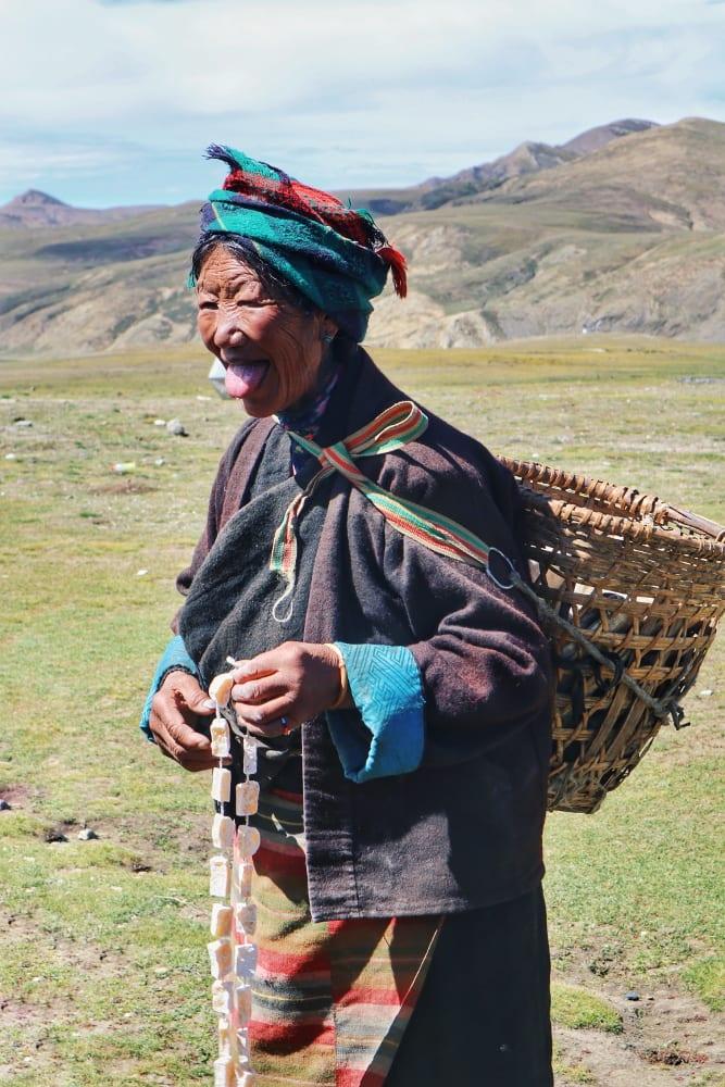 Tibetische Frau