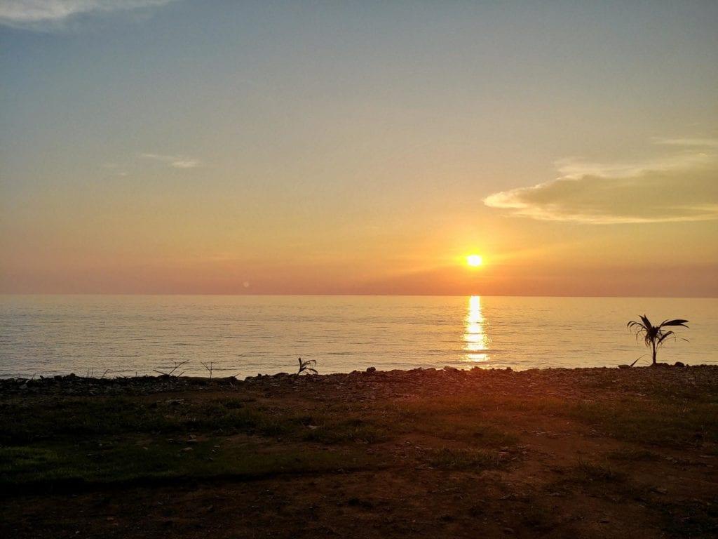 Koh Chang Lonely Beach Sonnenuntergang