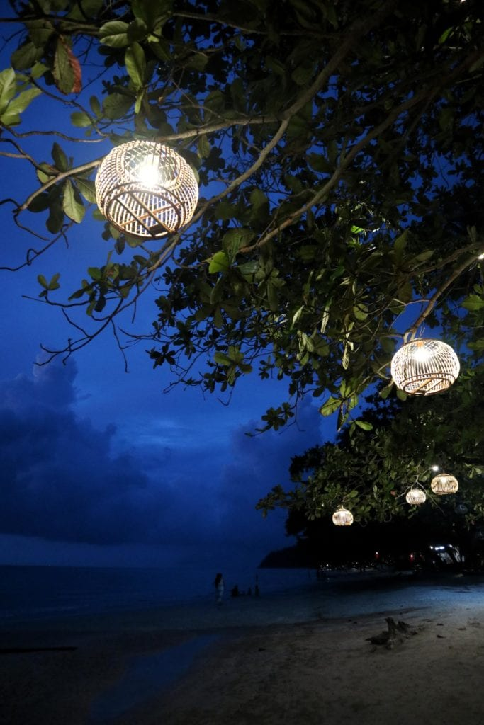 Lampinons am Whitesandy Beach Koh Chang