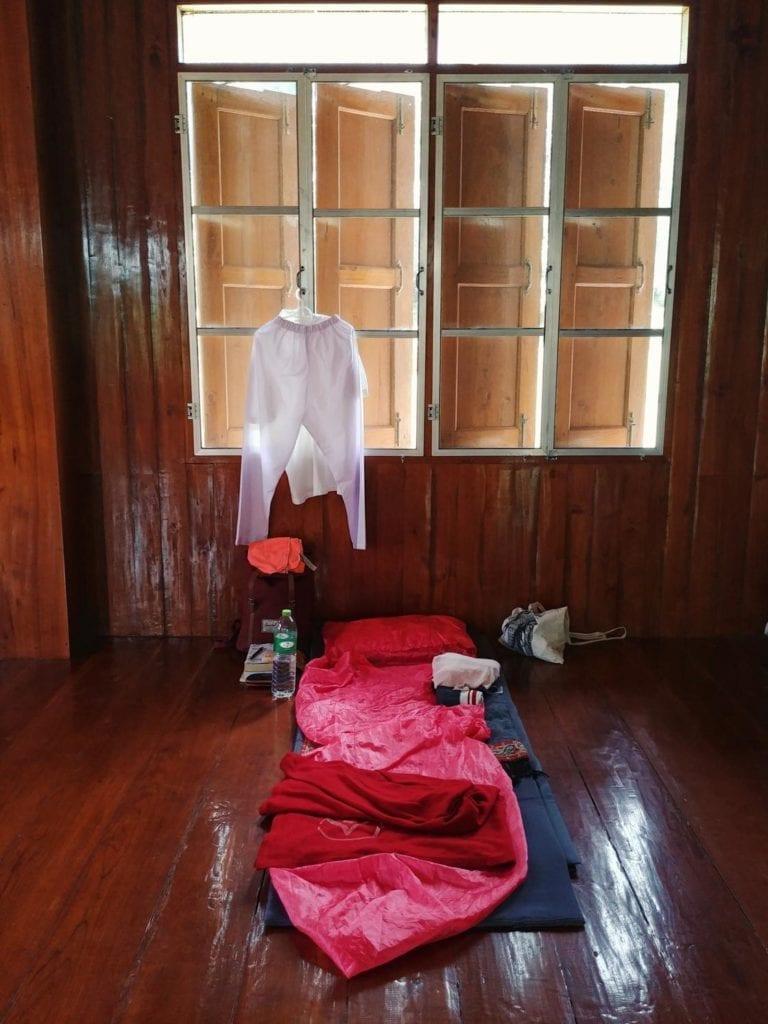 Schlafen im Kloster in Thailand: Meine Unterkunft in der Wat Pa Tam Wua Forest Monastery
