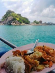 Mittagessen Schnorcheln auf Koh Chang