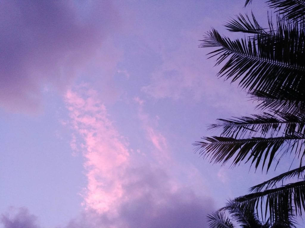 Pajamas Hostel Koh Chang Klong Prao Sonnenuntergang