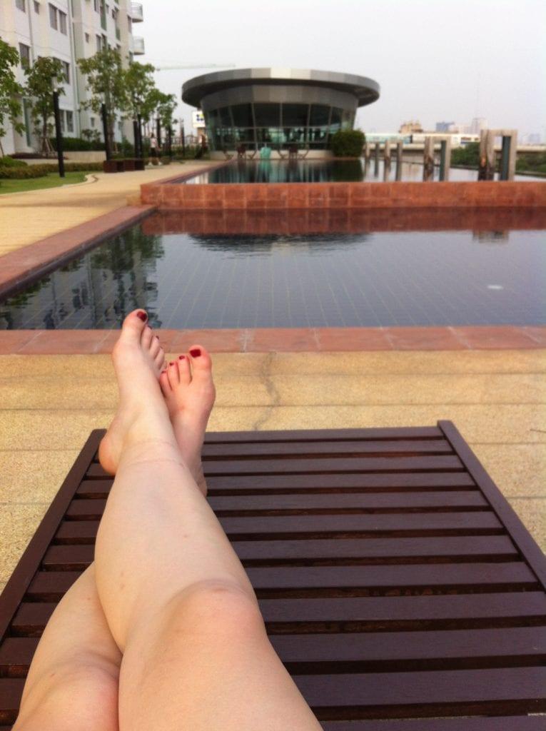 Pool im Supalai Park