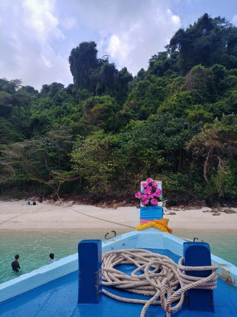 Schnorchelboot auf Koh Chang