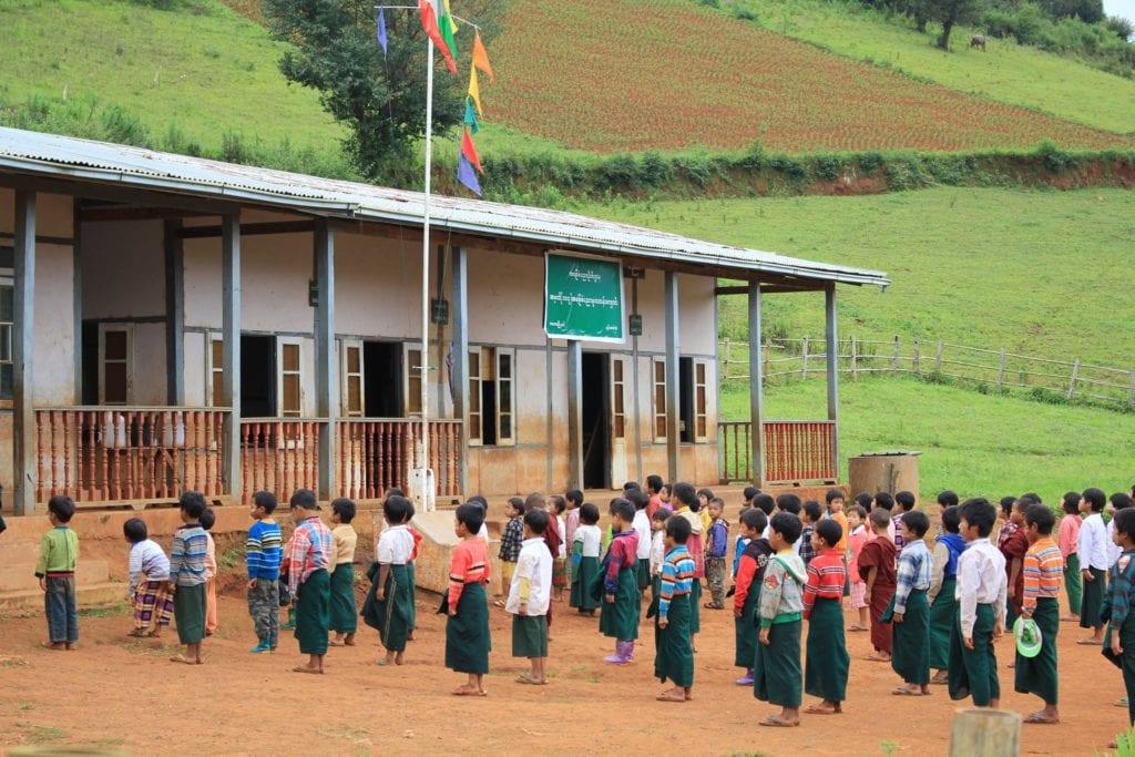 Schule Myanmar